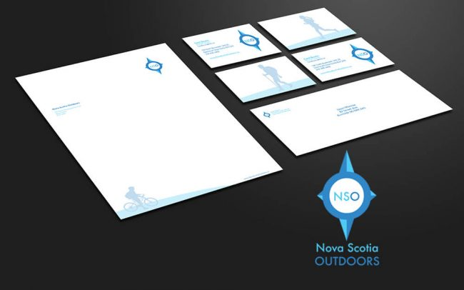 Business letterhead design business card design and logo laid out